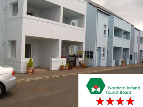 Self Catering Apartment in Ballycastle - NITB 4 Star - Self Catering accommodation in Ballycastle